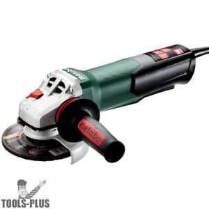 Metabo 603629420 4 5 5 Angle Grinder W non lock Paddle 11 000 Rpm 12a New