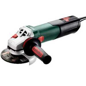 Metabo 603627420 4 5 5 Angle Grinder W lock on 11 000 Rpm 12 0 Amps New
