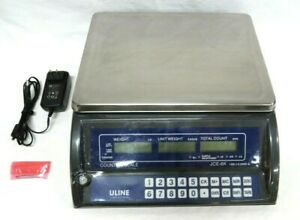 Uline Counting Scale Model Jce 6k Tested And Working Great Condition