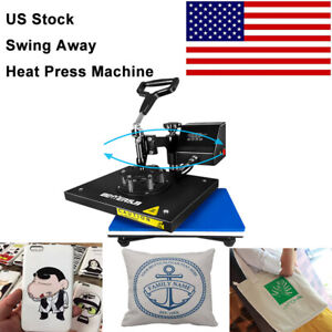 9 x12 digital Heat Press Machine 360 Swing Away Sublimation Transfer Diy T shirt