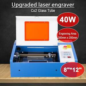 Mini40w Laser Engraver Cutting Machine Crafts Cutter With Water break Protection