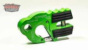 Factor 55 Ultrahook Winch Hook With Shackle Mount Monster Green