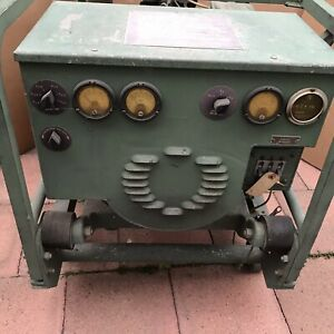 Military Generator Mep 016c 3kw 120 240v With 4a302 3 4 Cyl Engine
