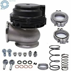 Universal Mvr 44mm Wastegate With V Band Flanges All Springs Pressure Included