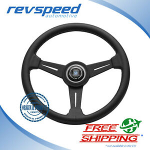 Nardi Italy Steering Wheel Classic Nd Black Leather 340mm