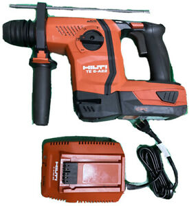 Hilti Te 6 a22 22v Cordless Rotary Hammer Drill W Battery charger