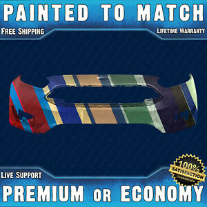 New Painted To Match Front Bumper Replacement For 2015 2018 Ford Focus 15 18