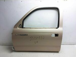 95 96 97 98 99 00 01 02 03 04 Toyota Tacoma Driver Door Shell Only Gold Oem