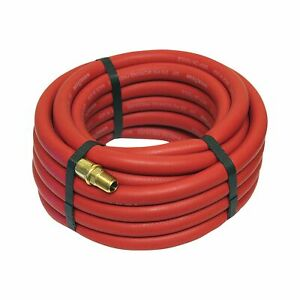 Goodyear Rubber Air Hose 3 8in X 25ft Red 12185