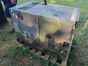 Mep802a Fermont Military Diesel 5kw Tactical Quiet Generator 96 Hours