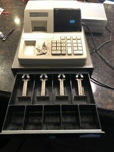 Casio Pcr 202 Electronic Cash Register With Keys Tested