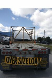 Flatbed Trailer 48 X 102 Year 2000 Used