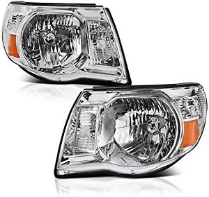 2005 2011 Toyota Tacoma Headlights Headlamps 05 11 Left Right Set
