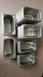 Lot Of 25 Stainless Steel 1 9th 4 2 1 4 Deep Steam Table Pans Vollrath Don