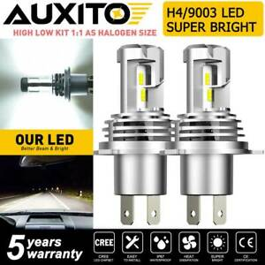 Auxito H4 9003 Hb2 Led Headlight Bulb Conversion Kit High Low Beam 6500k 24000lm