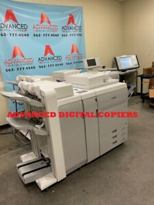 Canon Image press C750 Fiery Staple Collate Finisher With Low Meter 69k Color