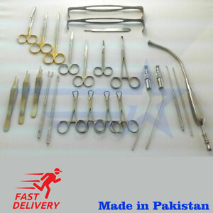 40 Pcs New Set Of Nasal Surgical Instruments Ent Medical Stainless Steel
