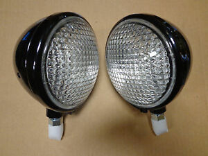 Front Head Light Headlight For John Deere A B G L La Lamp 6 Volt Set Of 2