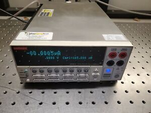 Keithley 2430 c Pulse Sourcemeter 100v 10a 1kw fully Functional 2430