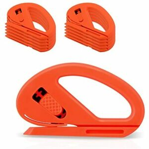 Snitty Safety Film Cutter Paper Vinyl Clothing Cutting Car Wrap Tool Carbon 10