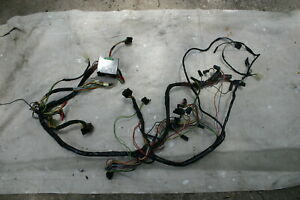 1969 Mustang Under Dash Wiring Harness With Tachometer A C And Clock Tach 69