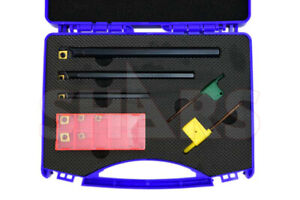 Shars 3pcs Sclcr Indexable Boring Bar Set 5 16 3 8 1 2 8 Inserts 70 Off S
