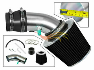 Rw Black Ram Air Intake Kit filter For 90 97 Toyota Corolla Prizm 1 6 1 8 L4