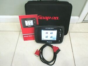 Snap On Ethos Tech Diagnostic Scanner Usa Asian Euro 2020 Full Function Mint