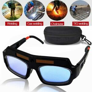 Welding Glasses Mask Helmet Eyes Goggles Solar Auto Darkening Welding Safety
