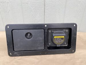 2005 2015 Toyota Tacoma Oem Truck Bed Side Deck Pocket Box Power Outlet Genuine