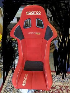 Jdm Sparco Corsa Racing Bucket Seat Non reclinable Drift D1 Autocross