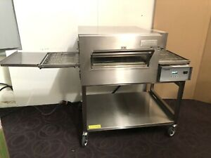 Lincoln 1132 000 Electric Single Deck Conveyor Pizza Oven Clean Tested