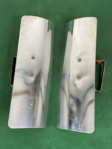 Vintage Station Wagon Rear Air wind Deflectors Pair Original Accessory Trim Gm