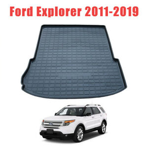 Rear Liner Cargo Mat Trunk Waterproof Floor Mats For Ford Explorer 2011 2019