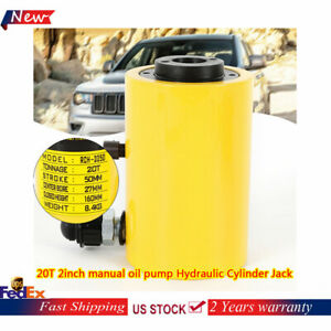 20t 2inch Manual Electric Oil Pump Hydraulic Cylinder Jack Business
