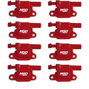 Msd Ignition 82658 Blaster Ls Coil Fits 05 13 Gm Ls 2 3 4 7 9 Engines Pack Of 8