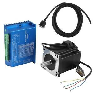 Hss86 Nema34 Closed Loop Stepper Motor 12 N m Hybridservo Driver Kits 0 3000rpm