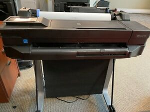 Hp Designjet T120 Professional Printer Eprinter With Stand