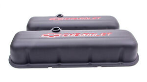 Proform 141 811 Steel Tall Valve Covers In Black Fits Big Block Chevy Engines