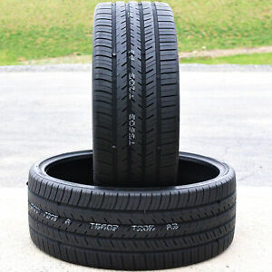 2 Atlas Tire Force Uhp A S 255 30r26 100w High Performance All Season Tires