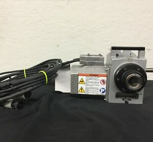 Haas Ha5cs High speed Single axis Rotary Unit With A 5c Collet Nose Indexer