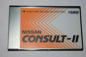 Vetronix Nissan Consult Ii Consult 2 16mb R51 Vdc Reprogramming Card