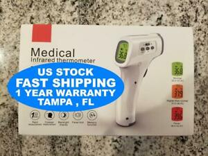 Medical non contact body forehead ir infrared laser digital thermometer accura