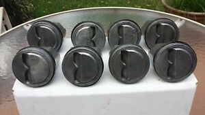 327 Forged Gm Pistons 3795337 Corvette Oem1962 1965 Fuel Injection Std Bore 350