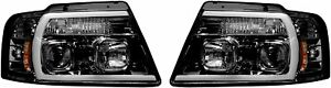 Recon Truck Accessories Recon 264198bkc Ford F150 For 04 08 Projector Headlights