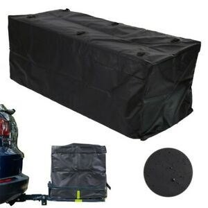 Car Suv Cargo Luggage Carrier Bag Storage Hitch Mount Waterproof Travel 20 Cu Ft
