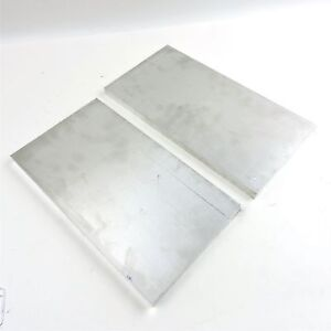 625 Thick 6061 Aluminum Plate 6 75 X 12 Long Qty 2 Flat Stock Sku 137137