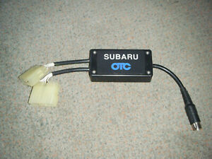 3305 15 Subaru Import Adapter Cable Genisys Mentor Determinator Tech force Otc