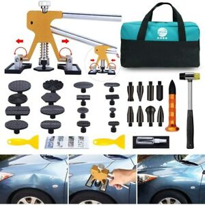Gliston Paintless Dent Puller Car Dent Puller Kit 35pcs Dent Remover Tools Diy