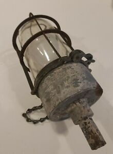 Vintage Barn Fresh Explosion Proof Light Safty Chain Cool Clamp 9 Steam Punk